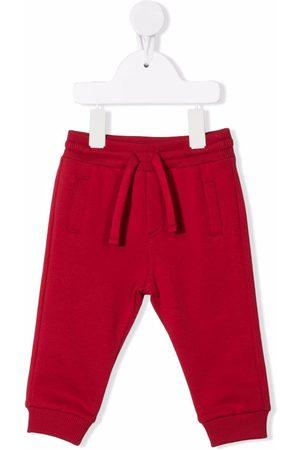 Dolce & Gabbana Drawstring cotton track pants