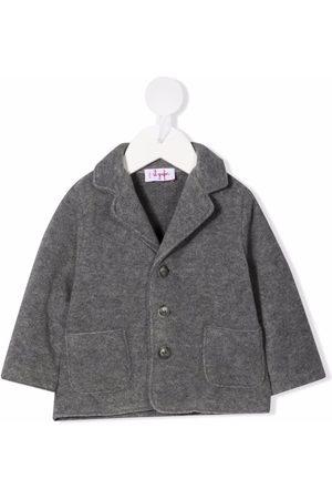 Il gufo Knitted blazer jacket - Grey