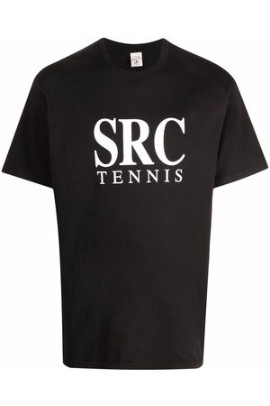 Sporty & Rich Logo-print short-sleeved T-shirt