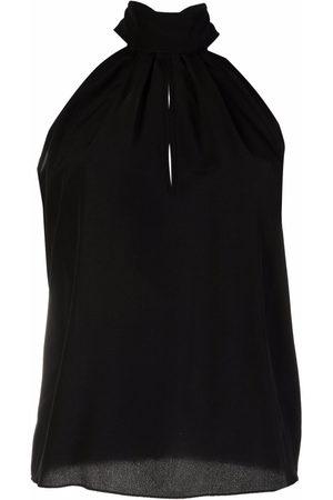 Philipp Plein Women High Necks - High-neck chiffon top