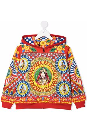 Dolce & Gabbana Embroidered long-sleeve hoodie