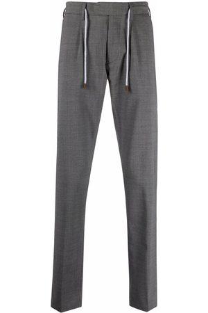 ELEVENTY Men Slim - Drawstring-waist trousers - Grey