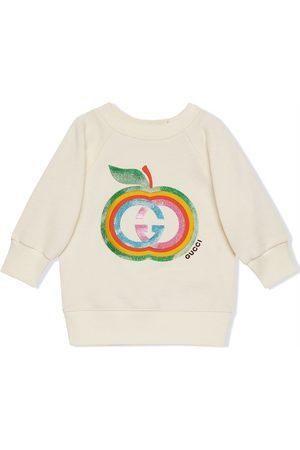 Gucci Long sleeves - Logo-print long-sleeve sweatshirt