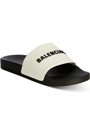 Balenciaga Men's Pool Slide Sandals