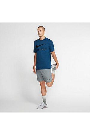Nike Men's Pro Flex Vent Max Shorts in Grey/Smoke Grey Size MT 100% Polyester