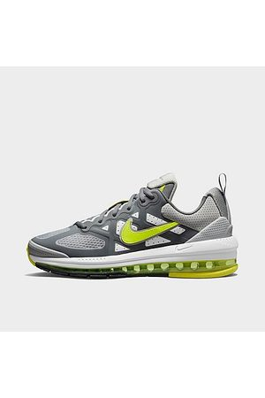Nike Men's Air Max Genome Casual Shoes in Grey/Grey Fog Size 7.5 Plastic