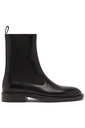 Jil Sander Leather Chelsea Boots - Womens