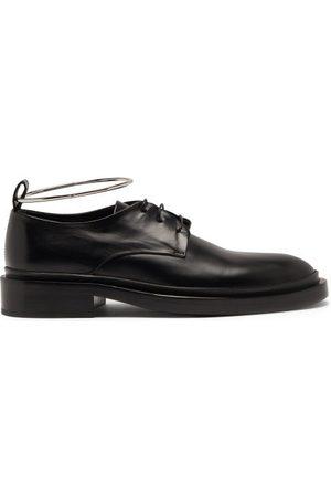 Jil Sander Women Formal Shoes - Anklet Leather Derby Shoes - Womens