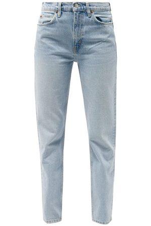RE/DONE 70s High-rise Straight-leg Jeans - Womens - Light Denim