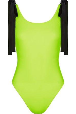 Christopher Kane Neon swimsuit