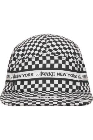 AWAKE NY Men Caps - Checkered logo cap U