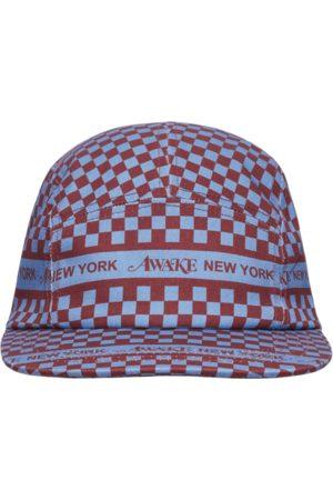 AWAKE NY Checkered logo cap U