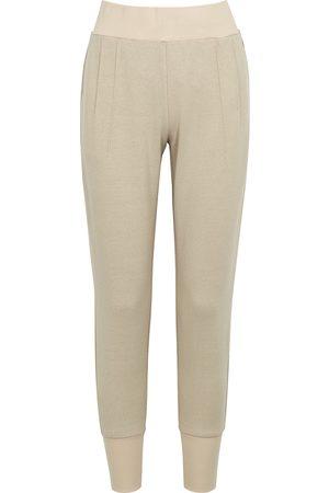 Varley Amberley stone stretch-cotton sweatpants