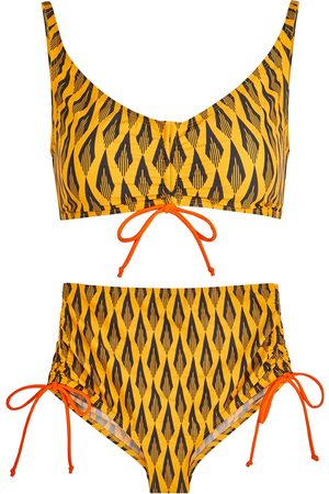 Paco rabanne Printed bikini