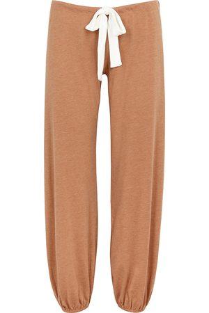 Eberjey Heather camel jersey pyjama trousers