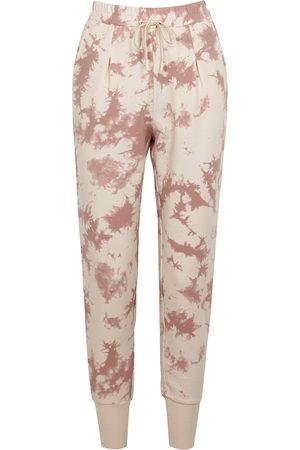 Varley Keswick tie-dyed stretch-cotton sweatpants
