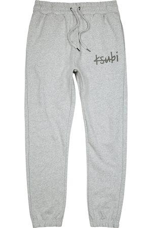 KSUBI 1999 Lo Fi grey mélange cotton sweatpants