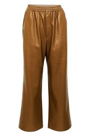 Nanushka Odessa pants in vegan leather