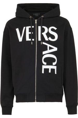 Versace Men Hoodies - Zip-up sweatshirt
