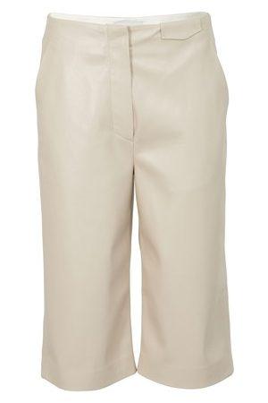 Nanushka Bermuda shorts Tazu in vegan leather