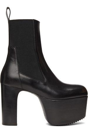 Rick Owens Men Ankle Boots - Black Kiss 65 Ankle Boots