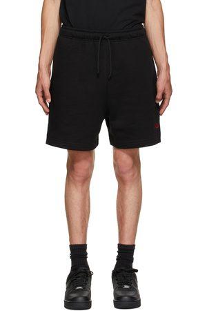 424 FAIRFAX Black Logo Shorts