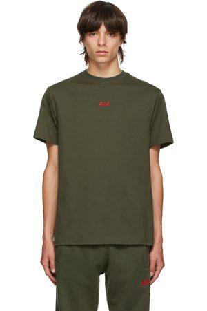 424 FAIRFAX Men T-shirts - Green Logo T-Shirt