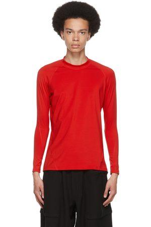 Y-3 Red Rash Guard Long Sleeve T-Shirt