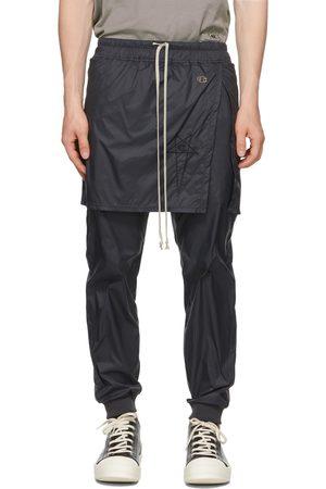 Rick Owens Men Sweats - Black Champion Edition Toga Lounge Pants