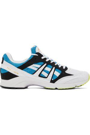 Comme des Garçons Shirt White & Blue Asics Edition Tarther SD Sneakers