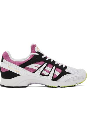 Comme des Garçons Shirt White & Pink Asics Edition Tarther SD Sneakers