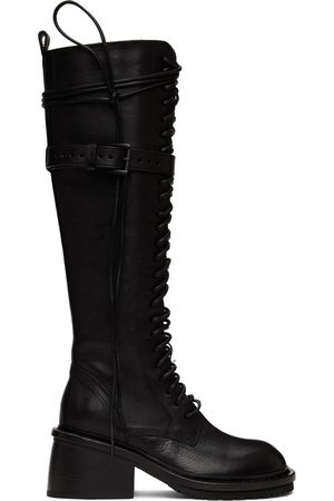 Ann Demeulemeester Women Lace-up Boots - Lace-Up High Boots