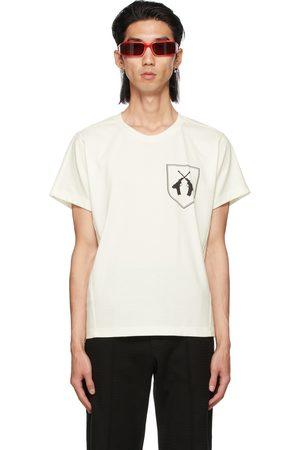 ADYAR SSENSE Exclusive White Twin Guns T-Shirt