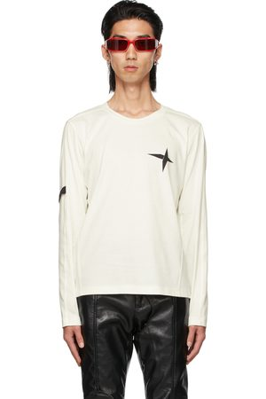 ADYAR Men Long Sleeve - SSENSE Exclusive White Armband Long Sleeve T-Shirt