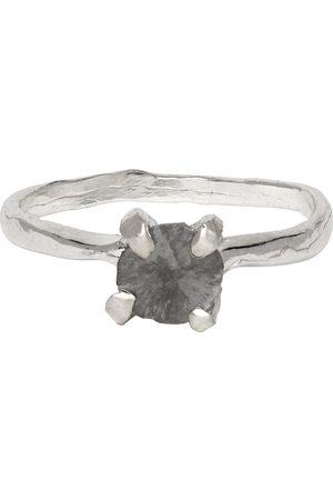 Pearls Before Swine Silver Splice Diamond Ring