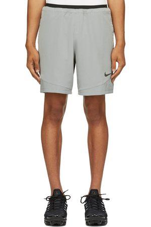 Nike Grey & Black Dri-FIT Pro Rep Shorts