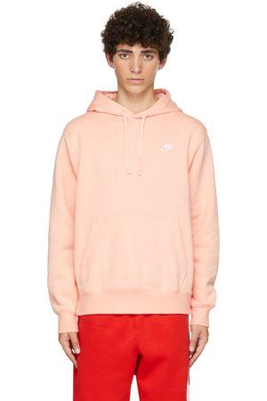 Nike Pink Fleece Sportswear Club Hoodie