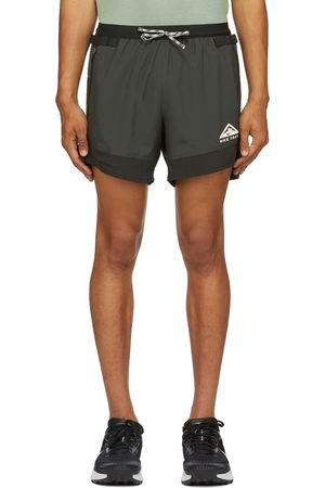 Nike Black & Grey Dri-FIT Flex Stride Trail Shorts