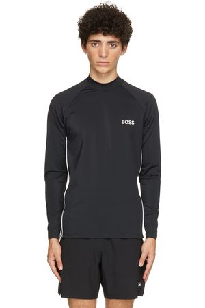 Boss Black Rash Guard Long Sleeve T-Shirt