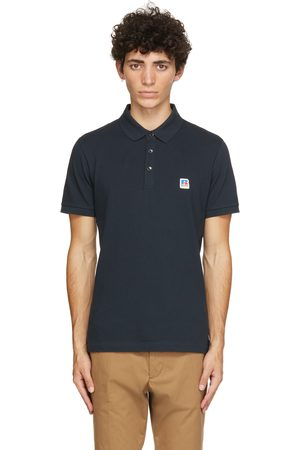 Boss Men Polo Shirts - Navy Russell Athletic Edition Petroc Polo