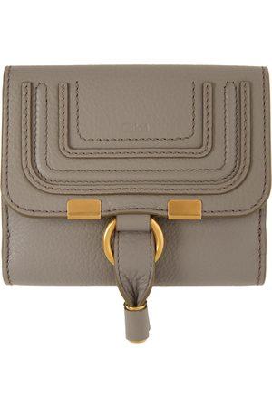 Chloé Grey Square Marcie Wallet