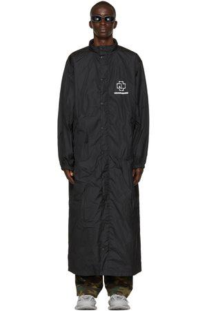 Balenciaga Black Rammstein Rain Coat