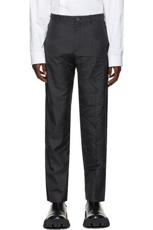 Balenciaga Black Technical Tailored Trousers