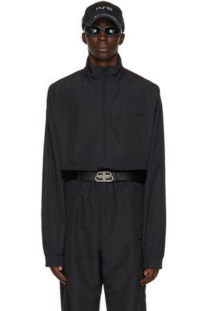 Balenciaga Black 'Free' Track Jacket
