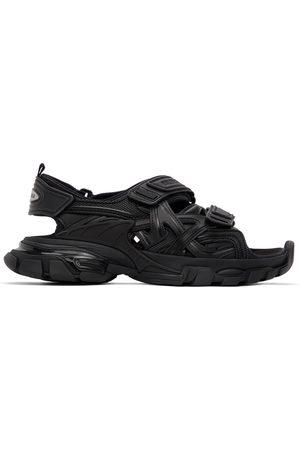 Balenciaga Black Track Sandals