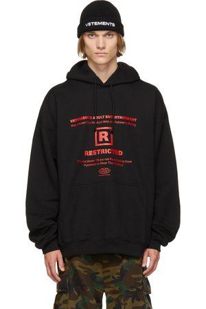 Vetements Restricted' Logo Hoodie