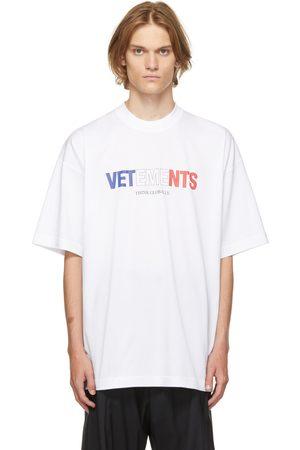 VETEMENTS Jersey France Logo T-Shirt