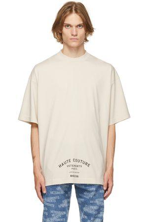 Vetements Off-White Maison De Couture T-Shirt