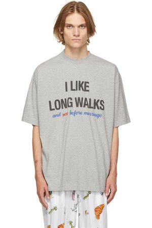 Vetements Grey 'Sex Before Marriage' T-Shirt
