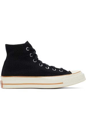 Converse Black Breathable Chuck 70 High Sneakers